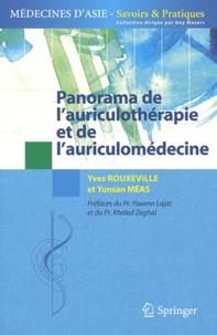 Panorama de l'auriculothérapie et de l'auriculomédecine - Yves Rouxeville |