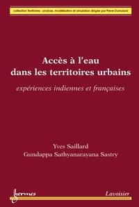 Yves Saillard - Accès à l'eau dans les territoires urbains - Expériences indiennes et françaises.