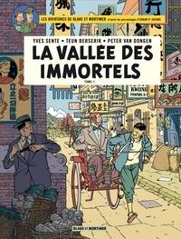 Yves Sente et Teun Berserik - Blake & Mortimer - Tome 25 - La Vallée des immortels - Tome 1 - Menace sur Hong Kong.