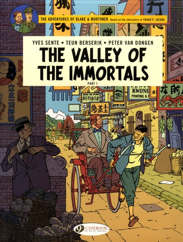 Blake & Mortimer Tome 25 The Valley of the Immortals. Part 1