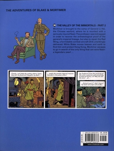 Blake & Mortimer Tome 26 The Valley of the Immortals. Part 2, The Thousandth Arm of the Mekong
