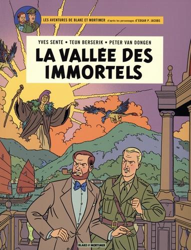Yves Sente et Teun Berserik - Les aventures de Blake et Mortimer  : La vallée des immortels - Coffret en 2 volumes : Menace sur Hong Kong ; Le millième bas du Mékong.