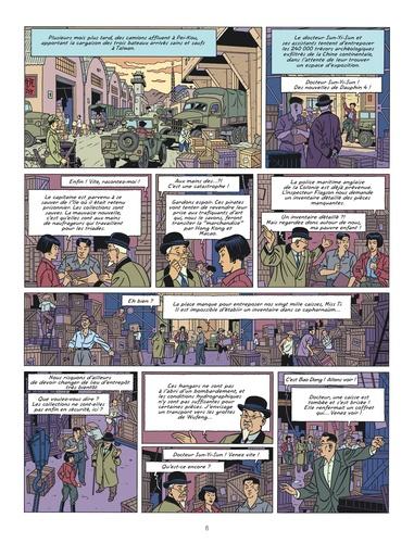 Les aventures de Blake et Mortimer Tome 25 La vallée des immortels. Tome 1, Menace sur Hong Kong
