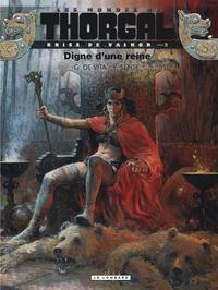 Yves Sente et Giulio De Vita - Les mondes de Thorgal : Kriss de Valnor Tome 3 : Digne d'une reine.