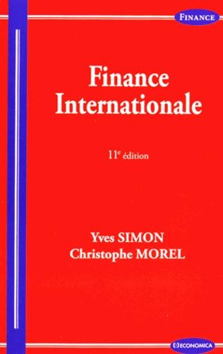 Yves Simon et Christophe Morel - Finance internationale.
