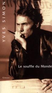 Yves Simon - Le souffle du monde.
