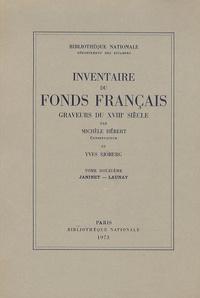 Yves Sjöberg et Michèle Hébert - Graveurs du XVIIIe siècle - Tome 12, Janinet - Launay.