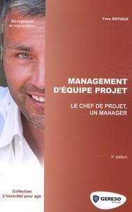 Yves Sotiaux - Management d'équipe projet.