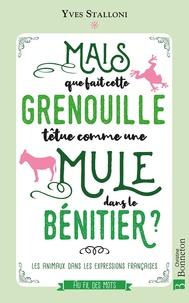 Yves Stalloni - Mais que fait dans le bénitier cette grenouille têtue comme une mule ? - Les animaux dans les expressions françaises.