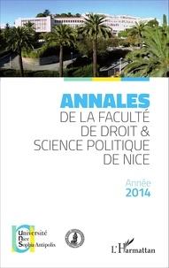 Yves Strickler - Annales de la faculté de droit et science politique de Nice.