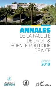 Yves Strickler - Annales de la faculté de droit et sciences politiques de Nice - Année 2018.
