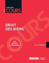 Yves Strickler - Droit des biens.