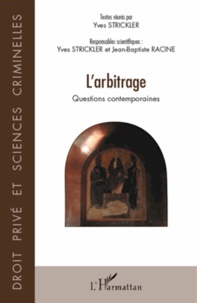 Larbitrage - Questions contemporaines.pdf