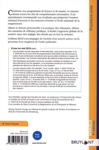 Procédure civile 9e édition