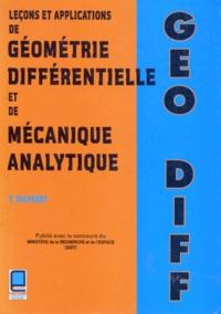 Leçons et applications de géométrie différentielle et de mécanique analytique.pdf