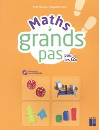 Yves Thomas et Magali Hersant - Maths à grands pas pour les GS. 1 Cédérom