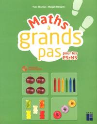 Yves Thomas et Magali Hersant - Maths à grands pas pour les PS-MS. 1 Cédérom