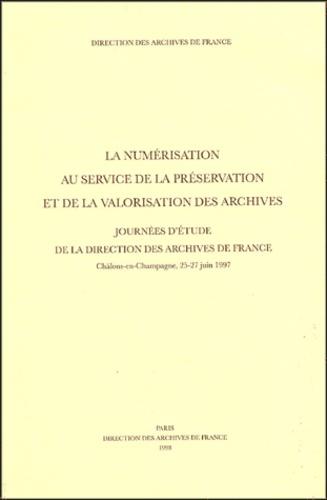 Yvette Lebrigand - La numérisation au service de la présentation et de la valorisation des archives - Journée d'étude de la direction des archives de France.