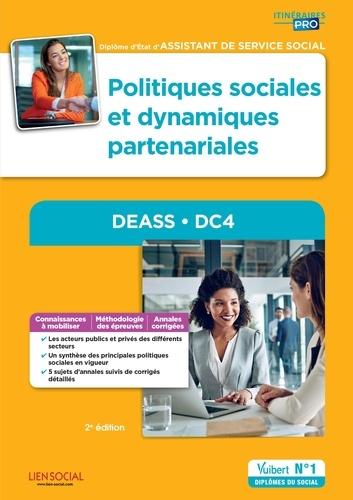 Yvette Molina et Marie Rolland - Politiques sociales et logiques partenariales, DEASS, DC4 - Diplôme d'Etat d'Assistant de service social.