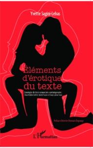 Deedr.fr Eléments d'érotique du texte - L'exemple de trois romanicers contemporains : Alain Robbe-Grillet, Kateb Yacine et Sony Labou Tansi Image