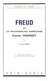 Yvon Brès - Freud et la psychanalyse américaine Karen Horney.