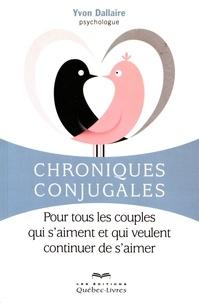 Chroniques conjugales - Pour tous les couples qui saiment et qui veulent continuer de saimer.pdf