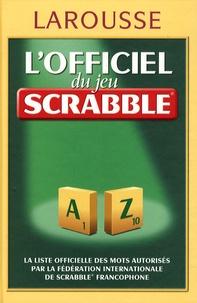 Accentsonline.fr L'officiel du jeu scrabble - Avec le petit livre des trucs et astuces et Grilles et jeux malins pour s'entraîner Image