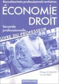Deedr.fr Economie-Droit 2de professionnelle - Livre du professeur Image