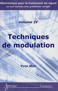 Yvon Mori - Techniques de modulation.