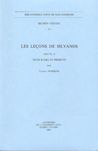 Yvonne Janssens - Les leçons de Silvanos - (NH VII, 4).