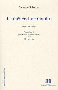 Yvonne Salmon - Le Général de Gaulle.