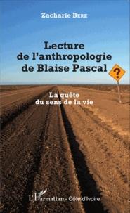 Deedr.fr Lecture de l'anthropologie de Blaise Pascal - La quête du sens de la vie Image