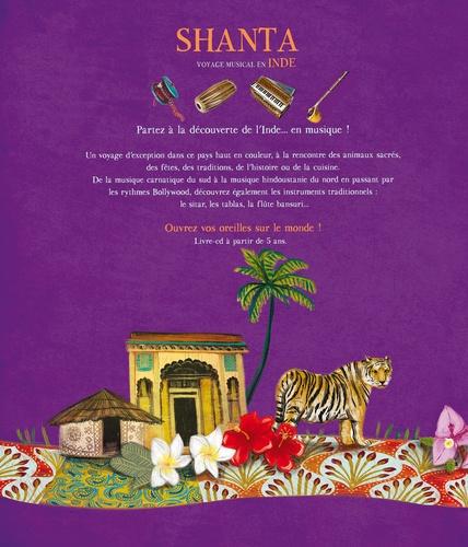 Shanta, voyage musical en Inde  avec 1 CD audio MP3