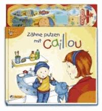 Zähne putzen mit Caillou.