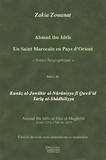 Zakia Zouanat - Ahmad ibn idris : un saint marocain en pays d'Orient.