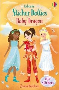 Zanna Davidson et Katie Wood - Baby Dragon - Usborne Sticker Dollies.