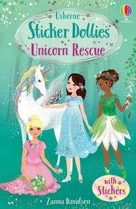 Feriasdhiver.fr Unicorn rescue - Usborne Sticker Dollies Image