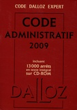 Zéhina Ait-El-Kadi et Pierre Bon - Code administratif 2009. 1 Cédérom