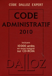 Zéhina Ait-El-Kadi - Code administratif 2010. 1 Cédérom
