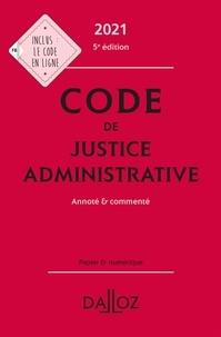 Zéhina Ait-El-Kadi et Jacques-Henri Stahl - Code de justice administrative - Annoté et commenté.