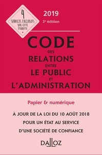 Code des relations entre le public et l'administration annoté & commenté - Zéhina Ait-El-Kadi pdf epub