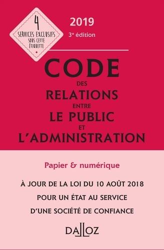 Zéhina Ait-El-Kadi - Code des relations entre le public et l'administration annoté & commenté.