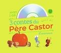 Zemanel et Vanessa Gautier - 3 contes du Père Castor d'animaux - Le petit hérisson partageur ; Dans le ventre du moustique ; Un travail de fourmis. 1 CD audio