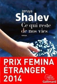 Ce qui reste de nos vies - Zeruya Shalev   Showmesound.org