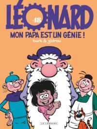 Zidrou et  Turk - Léonard Tome 48 : Mon papa est un génie !.