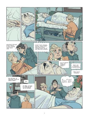 Les beaux étés Tome 5 La fugue. 1979