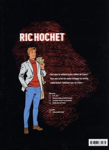 Les nouvelles enquêtes de Ric Hochet Tome 4 Tombé pour la France