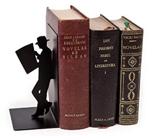 ZIGZAG ISLAND - Serres-livres the reader noir métal