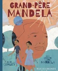 Zindzi Mandela et Zazi Mandela - Grand-père Mandela.
