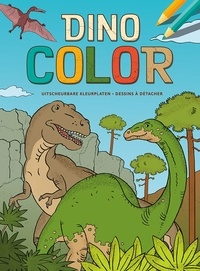 ZNU et Ina Hallemans - Dino color - Dessins à détacher.